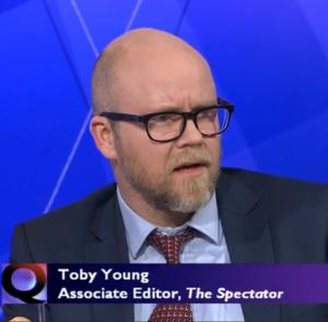 Toby Young BBC QT
