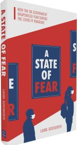 Cover of book - A State of Fear by speaker Laura Dodsworth