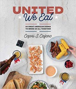 Capri Cafaro book cover United We Eat